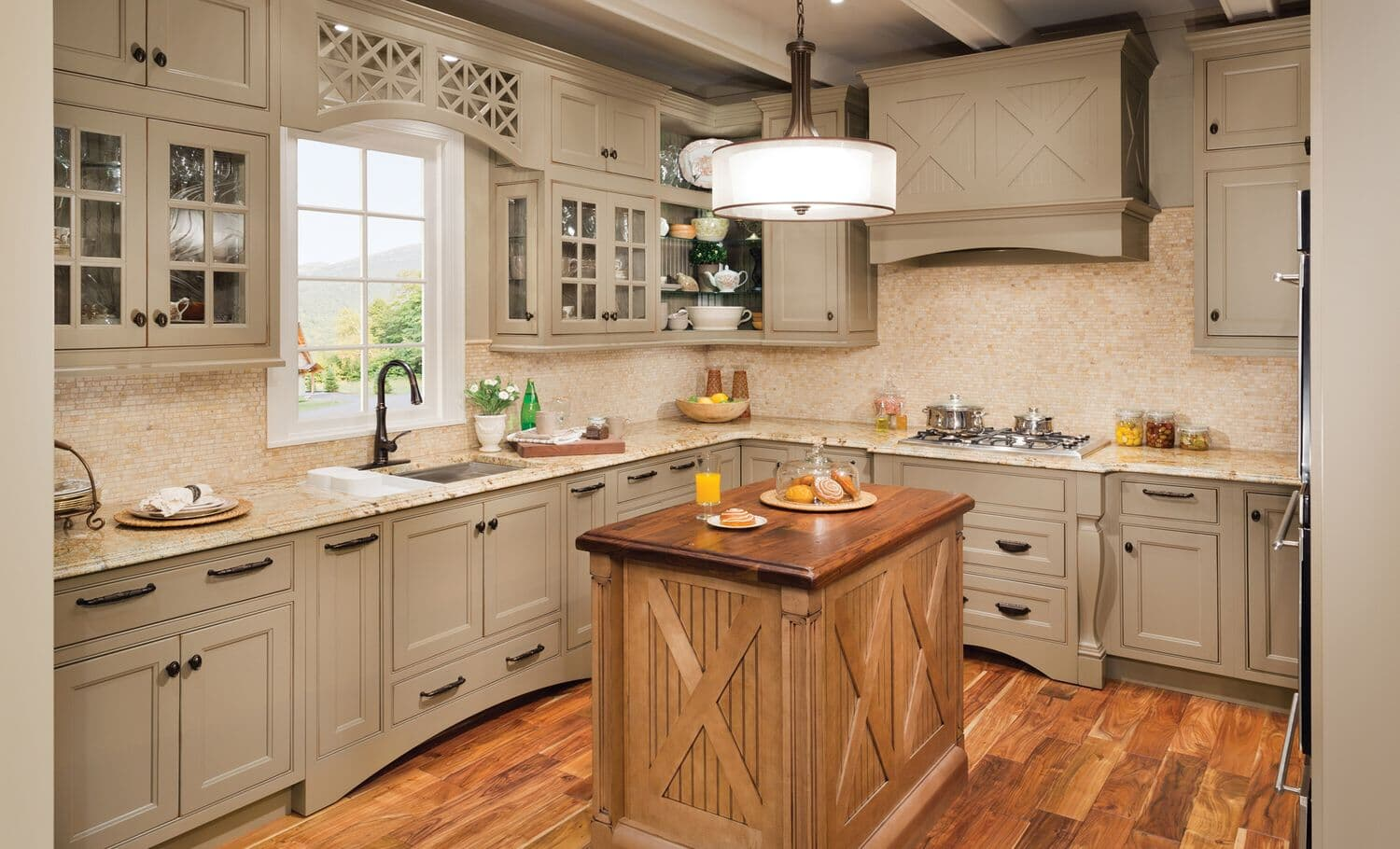 Transitional Kitchens Gallery
